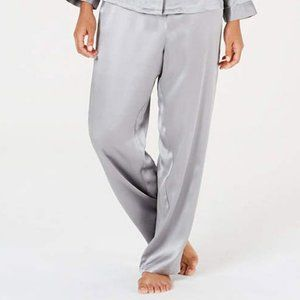 Chater Club Gray Silk Pajama Bottoms